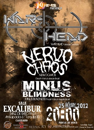 War-Head en Madrid