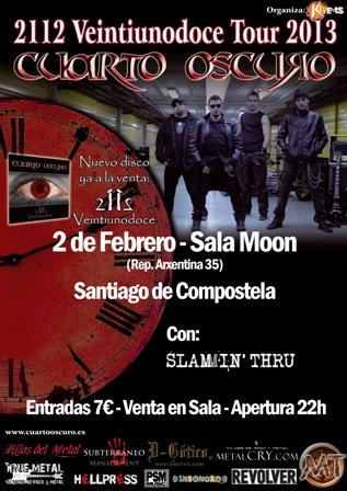 Cuarto Oscuro en Santiago de Compostela