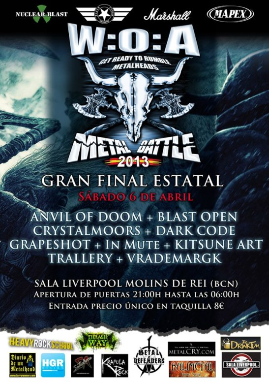 W:O:A Metal Battle Spain