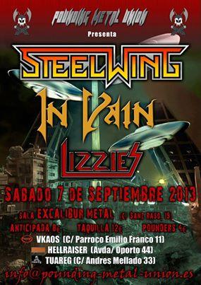 in vain + steelwing