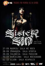 Sister Sin Spanish Tour