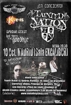 Tainted Nation en Madrid
