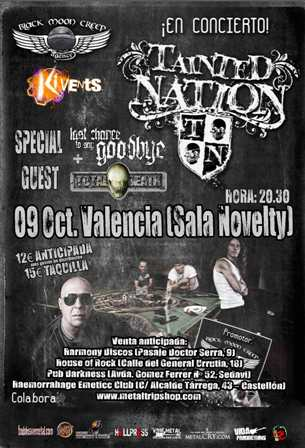 Tainted Nation en Valencia