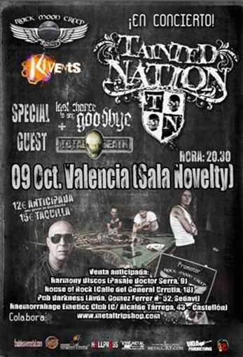 Tainted Nation Valencia