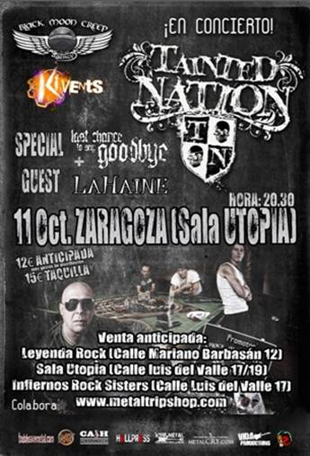 Tainted Nation Zaragoza