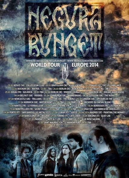 Negura Bunget European Tour