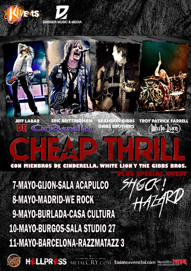Cheap Thrill de gira por España