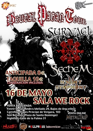 Brutal Pagan Tour Madrid