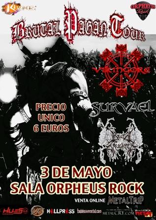 Brutal Pagan Tour Sevilla