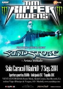 "Tim ""Ripper"" Owens Madrid"