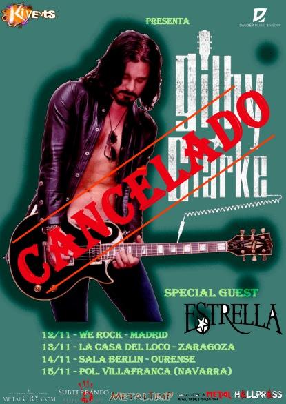 Gilby Clarke - Cancelado