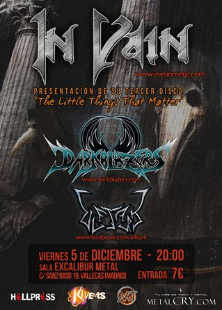 In Vain en Madrid