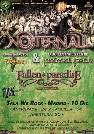 Noturnall en Madrid