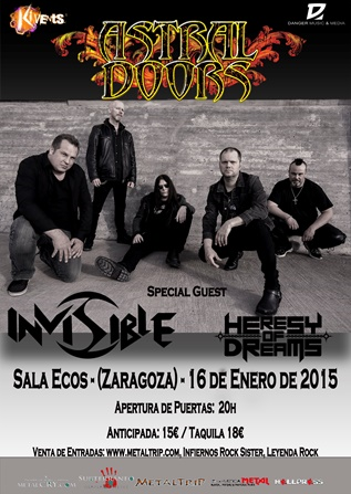 Astral Doors Zaragoza