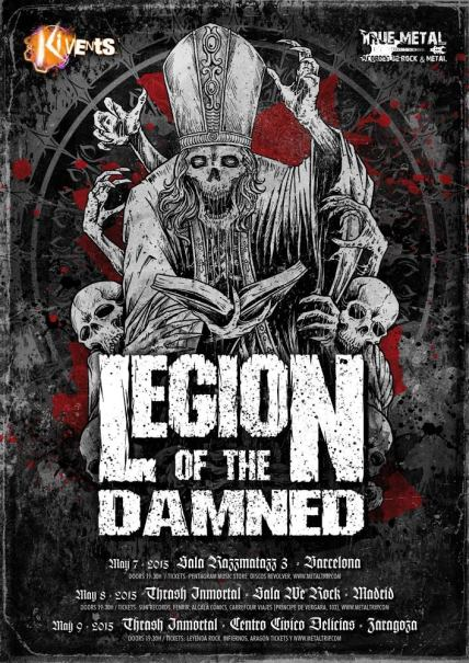 Legion of The Damned en España