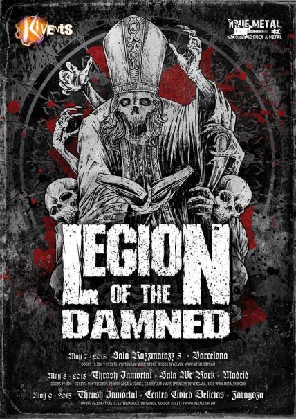 Legion of The Damned en España