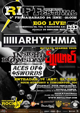Arhythmia en Alcalá de Henares