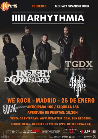 Arhythmia en Madrid