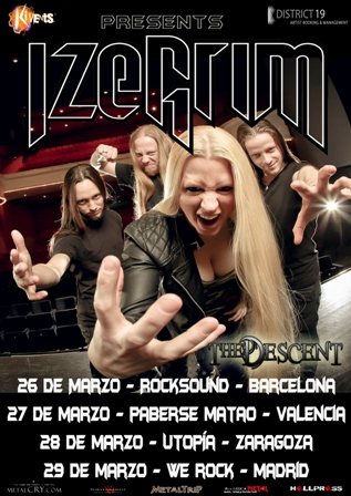 Izegrim con The Descent Tour