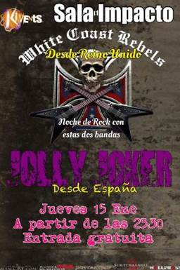 White Coast Rebels y Jolly Joker en Plasencia