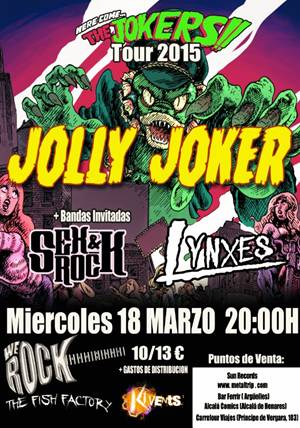 Jolly Joker en Sala We Rock de Madrid