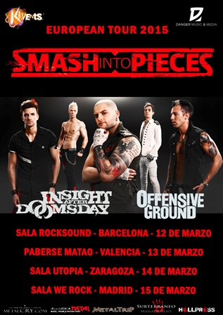 Smash Into Pieces Tour