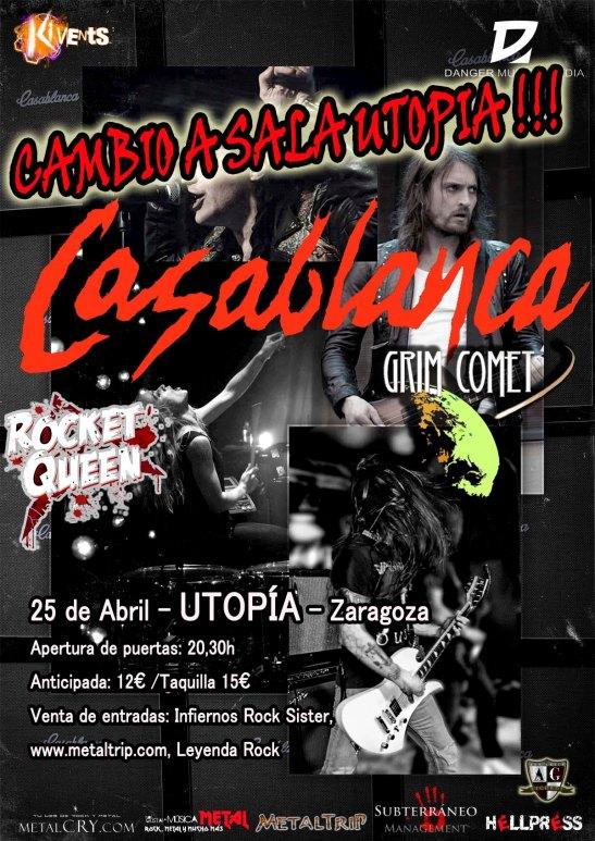 Casablanca Cartel ZAZ Utopia s