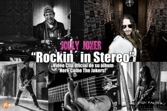 """Jolly Joker - """"Rockin´ In Stereo""""."""