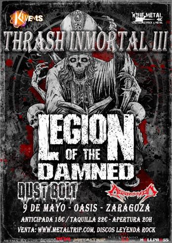 Thrash Inmortal en Zaragoza