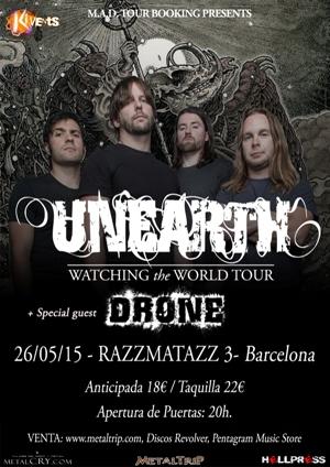 Unearth en Barcelona