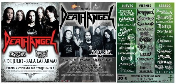 Agresiva con Death Angel