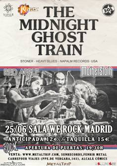 The Midnight Ghost Train en Madrid