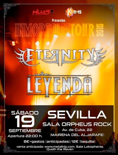 Eternity y LEYENDA en Sevilla