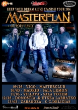 "Masterplan - ""Keep Your Dream Alive Spanish Tour 2016"""