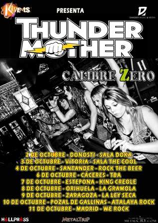 Thundermother cartel fechas s web