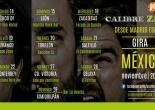 Calibre Zero, gira mexicana. Noviembre 2015