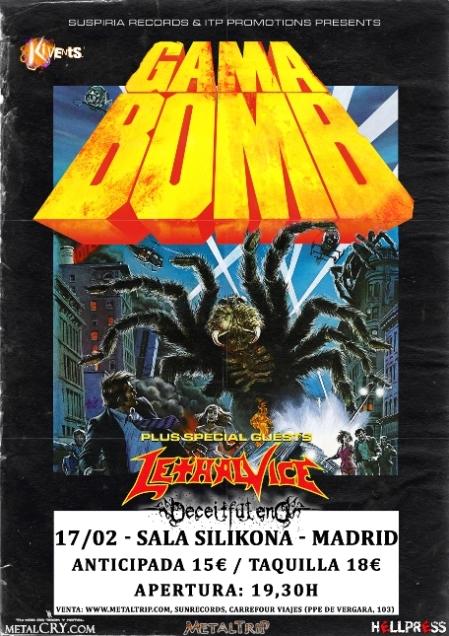 Gama Bomb en Madrid