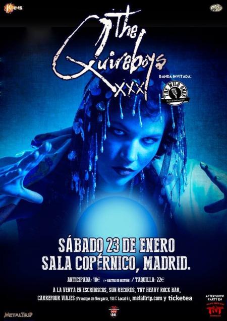 The Quireboys en Madrid