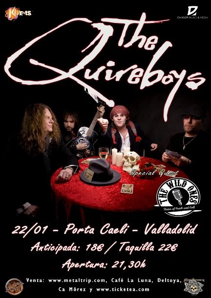 The Quireboys en Valladolid