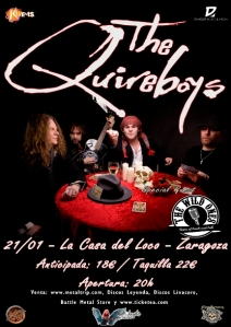 The Quireboys ZAZ web peq