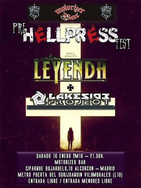 LEYENDA en la fiesta Pre Hellpress Fest