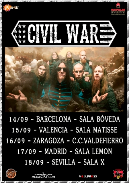 Civil War - Spanish Tour