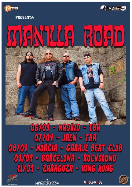 Manilla Road Tour