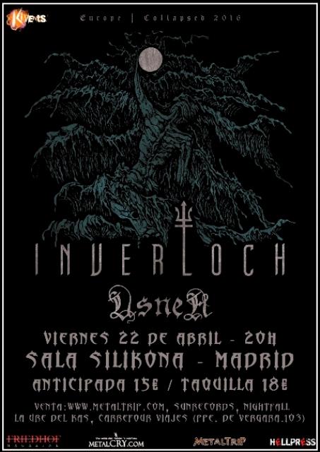 Inverloch y Usnea en Madrid