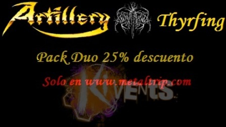 Pack Duo Artillery y Thyrfing