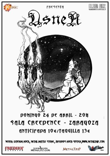 Usnea en Zaragoza