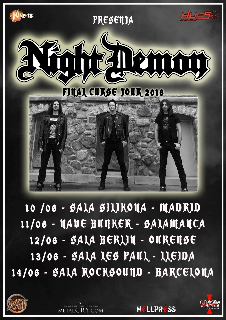 Night Demon - Spanish Tour
