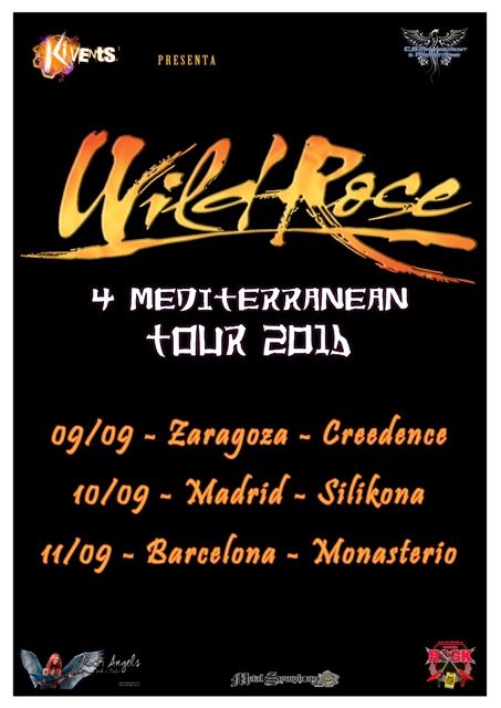 Wild Rose Mediterranean Tour 2016