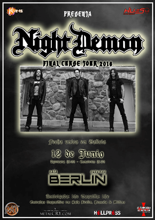 NIght Demon en Ourense