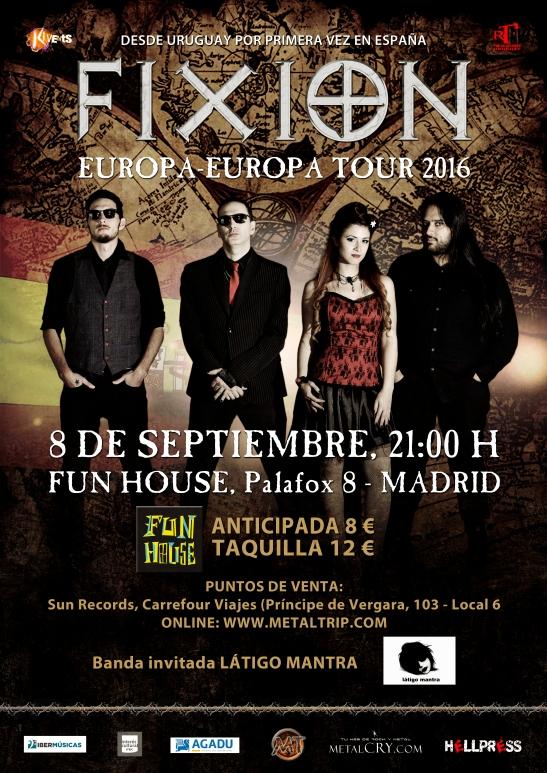 FIXION afiche Madrid High